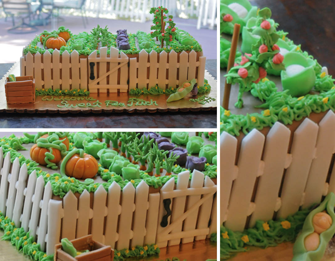 Guide,Picture sample: Flower garden cake ideas